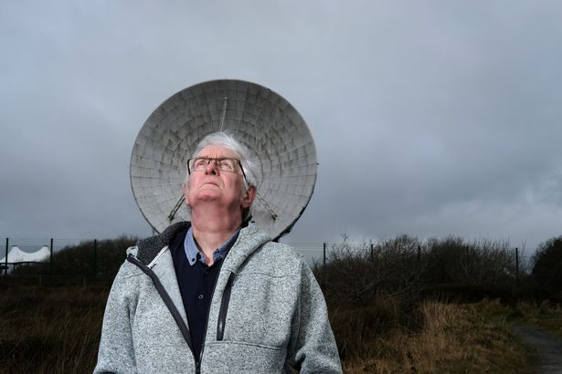 Pip Greenaway brought the Moon landings to TV screens across the world from Goonhilly