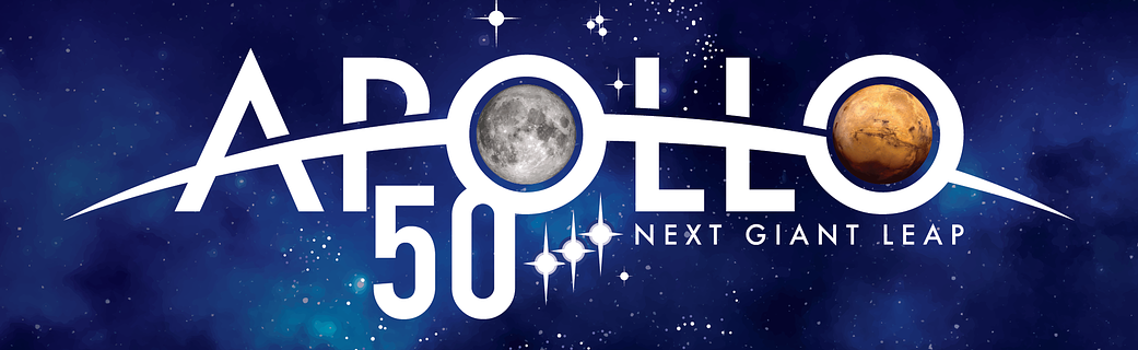 NASA releases Apollo 50 logo